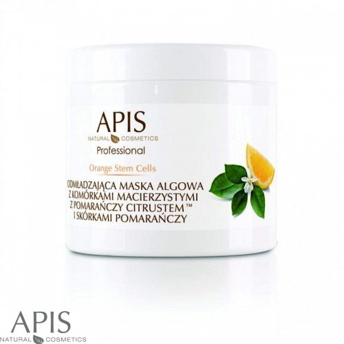 APIS - Orange stem cells - Maska za podmlađivanje sa algama - 250 g