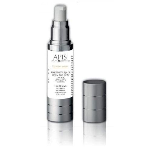 APIS - Home terApis - Serum za predeo oko očiju sa biserom, zlatnim algama i kavijarom - 15 ml