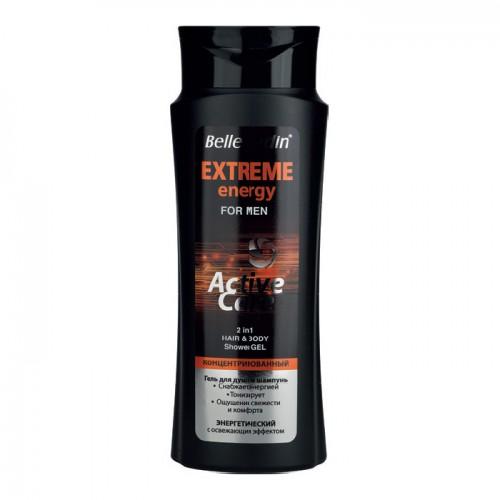 Šampon i gel za tuširanje za muškarce - Extreme Energy  420ml