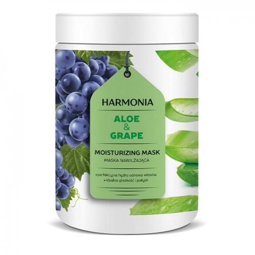 Hidrirajuća maska za kosu sa aloe verom i grožđem - HARMONIA 1000g