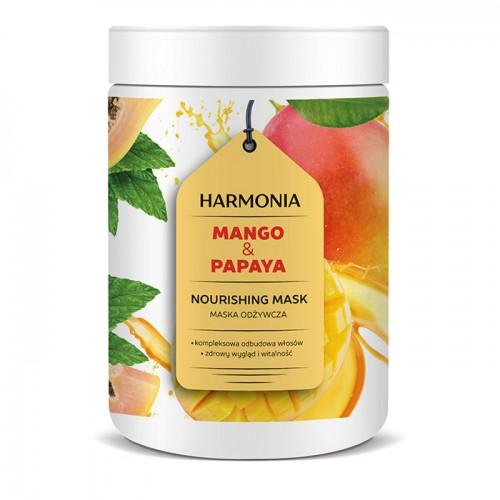 Hranljiva maska za kosu sa mangom i papajom - HARMONIA 1000g