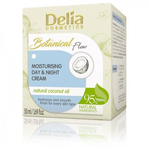 BOTANICAL FLOW - Hidratantna dnevna & noćna krema prirodno - kokosovo ulje 50ml