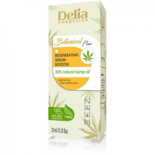 BOTANICAL FLOW - regenerišući serum - pojačivač sa prirodnim uljem od konoplje 10ml