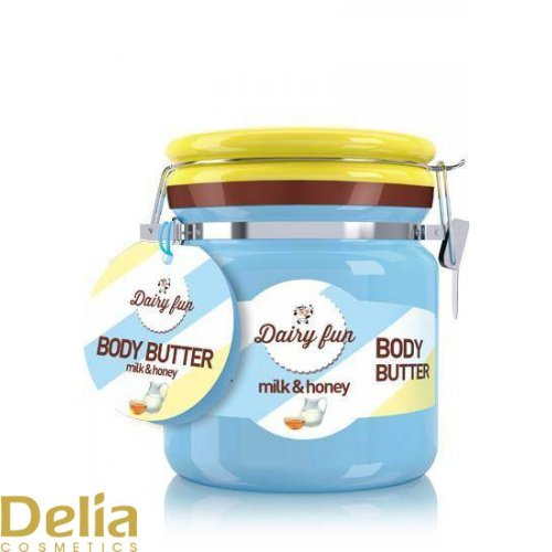 DAIRY FUN - Body butter - Med i Mleko 300g
