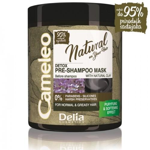 CAMELEO NATURAL – DETOX - Detoksifirajuća maska za pretpranje kose 250ml