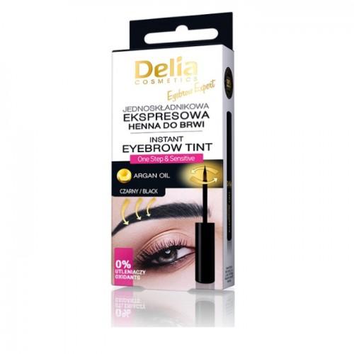 DELIA - Instant crna farba za obrve 6ml