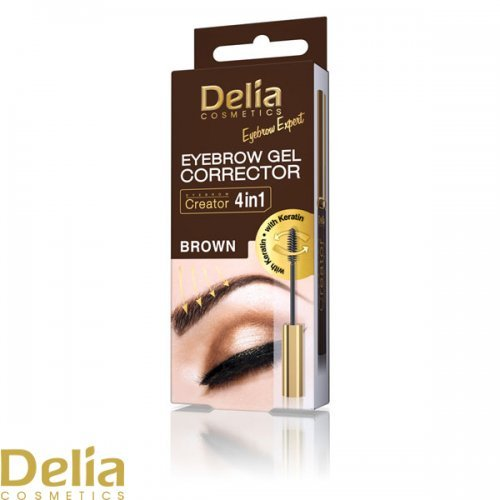 DELIA - Gel za korekciju obrva, braon 7ml