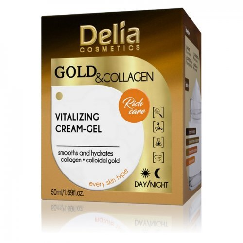 GOLD & COLLAGEN Vitalizujući krem gel 50ml