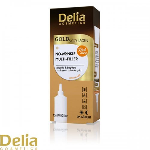 GOLD & COLLAGEN - Serum za popunjavanje bora 15ml