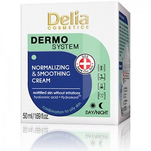 DERMO SYSTEM - Normalizujuća krema sa efektom zaglađivanja kože 50ml