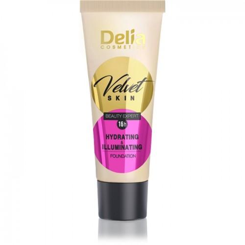 DELIA - BEAUTY EXPERT 16h - Tečni puder za hidrataciju i posvetljivanje kože 30ml