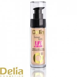 DELIA - LIFT & SMOOTH tečni puder sa lifting i efektom glatke kože 30ml