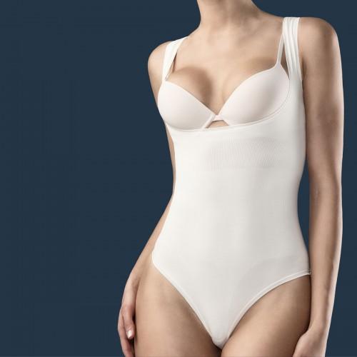 ELEGANCE SHAPE Triko sa otvorenim poprsjem za oblikovanje i svežinu tela Art. 608B