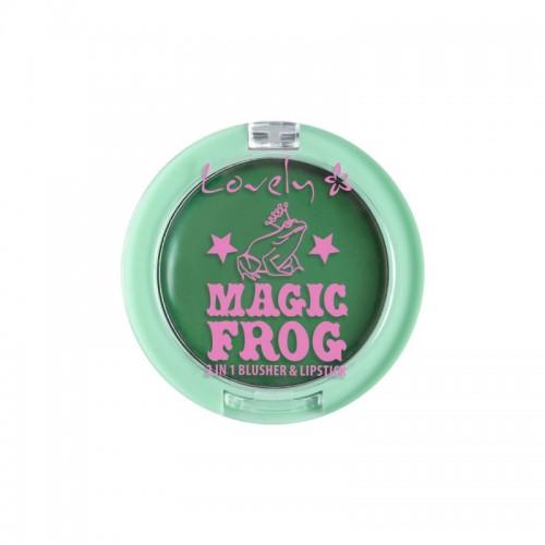 LOVELY MAKEUP - Magic Frog Rumenilo i ruž 2 u 1