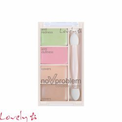 LOVELY MAKEUP - Paleta korektora u četiri osnovne nijanse, No Problem