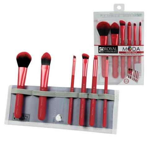 Mōda® - Set crvenih četkica za kompletan izgled