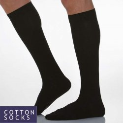 COTTON SOCKS - Dokolenice 140 DEN (18-22 mmHg) Unisex
