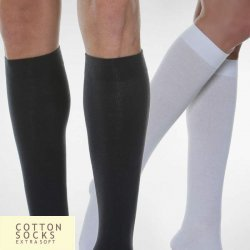 COTTON SOCKS - Dokolenice Unisex 280 DEN (22-27 mmHg)