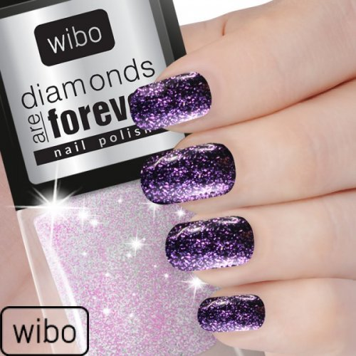 WIBO - No.3 Lak za nokte Diamonds are Forever