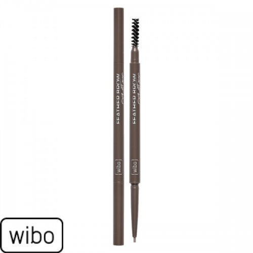 WIBO - Feather Brow Creater  - Olovka za obrve meka braon