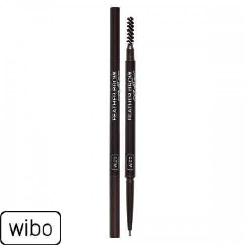 WIBO - Feather Brow Creater - Olovka za obrve tamno braon
